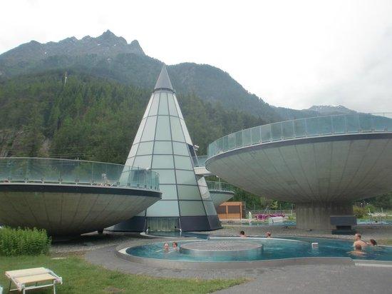 Hotel Rita: centro termale Aqua Dome
