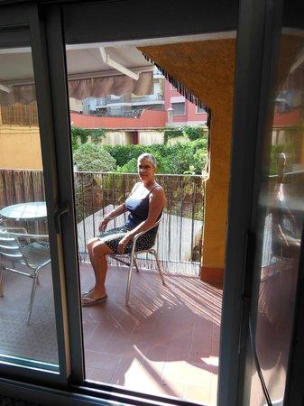 BarcelonaBB : Balcony