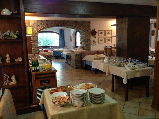 Hotel Triolet : sala colazione