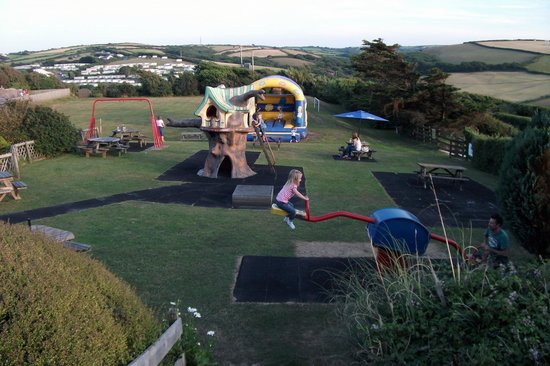 Widemouth Manor Hotel: Widemouth Manor, Childrens' Play Area