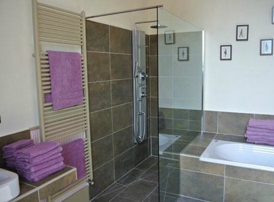 Villa Facta B&B : Bagno Camera Rosa Bourbon