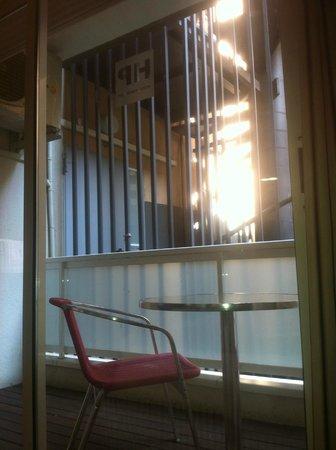 Hotel Evenia President: Vistas desde mi cama