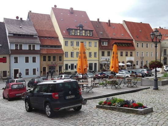 Zum Erbgericht: Marktplatz Stolpen