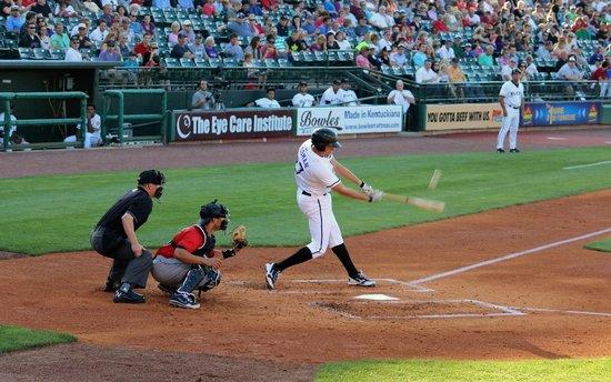 Louisville Slugger Field: Play ball!