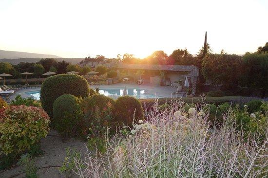 Restaurant Edouard Loubet** : Stunning sunset