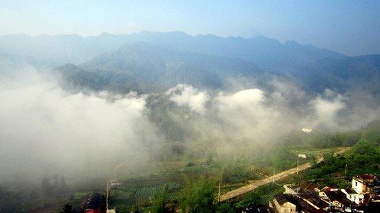 Bamboo Sapa Hotel : Les nuages arrivent...très vite !