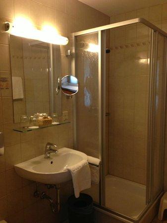 Hotel Jäger: il bagno