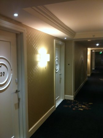 The H Hotel: Hallway