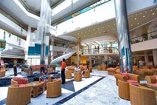 Gran Hotel Turquesa Playa : hall d'entrée