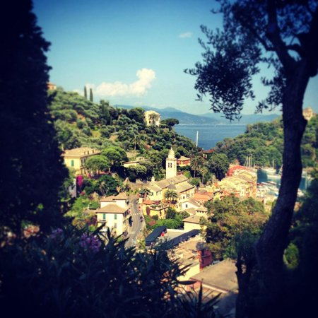 B&B Tre Mari Portofino: View from the garden