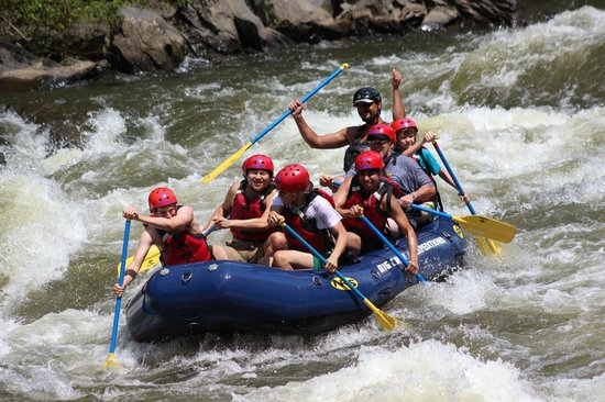 Pideon River Whitewater Trip:Big Creek Expeditions