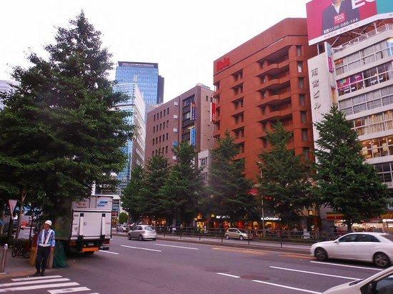 ibis Tokyo Shinjuku : L'hotel se trouve à 5 minutes de la gare de Shinjuku.