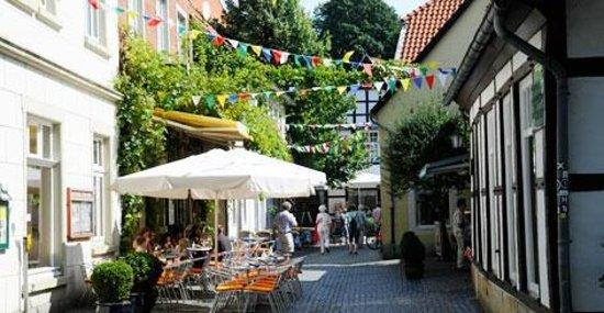 Regenbogen Tecklenburg: The town of Tecklenburg