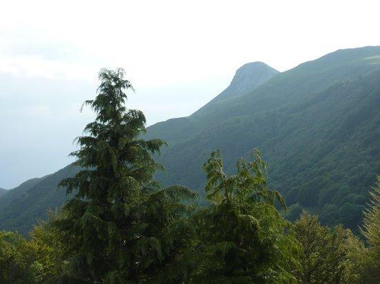 VVF Villages Le Lioran Font-de-Cere: vue de la terrasse