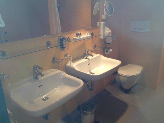 Gartenhotel Altmannsdorf: bathroom hotel 1 'Romanian-style'