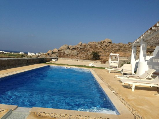 Naxian Collection: private pool at our Villa