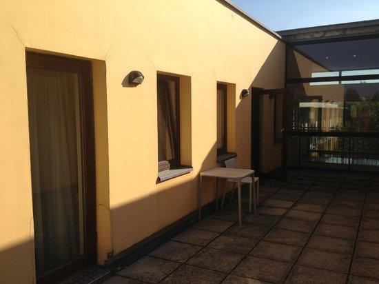 Gartenhotel Altmannsdorf: hotel 1 terras