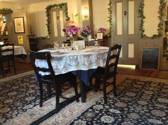 Sandisfield, MA: one of the dining rooms