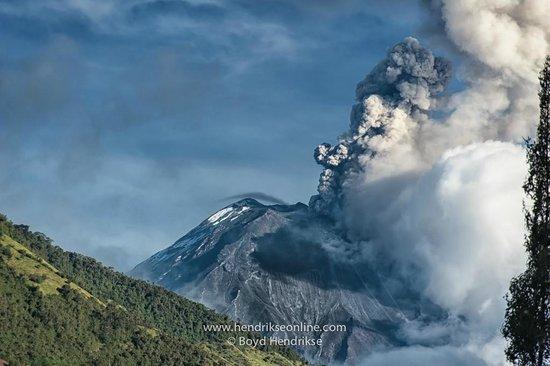 Hacienda Leito: Volcano Tungurahua