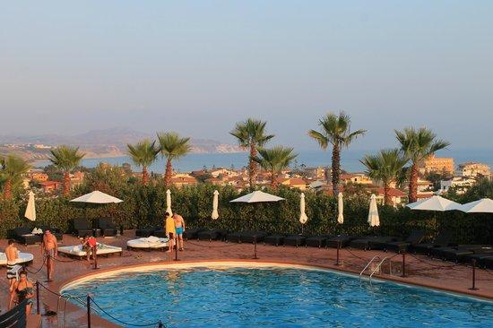 Baia di Ulisse Wellness & SPA: Panorama dalla terrazza