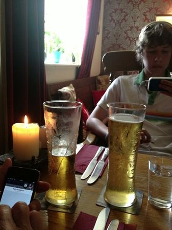 Great Western Arms: pre lunch drinks