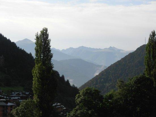 Sant Moritz Apartments: Vista desde la terraza