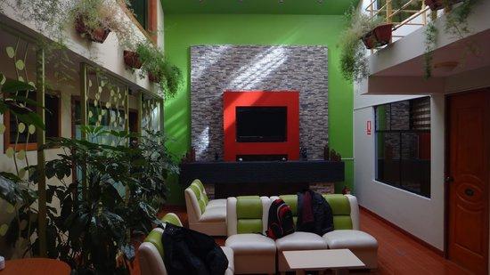 El Mariscal Cusco: Hall del Hotel