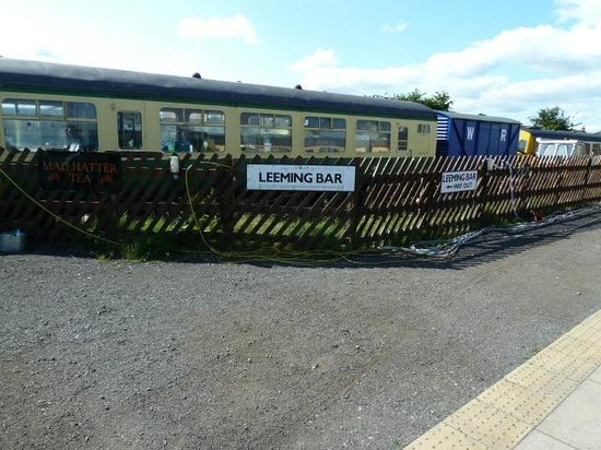 The White Rose Hotel: steam train