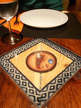 Restaurant Cerro Otto : Detalle mesa