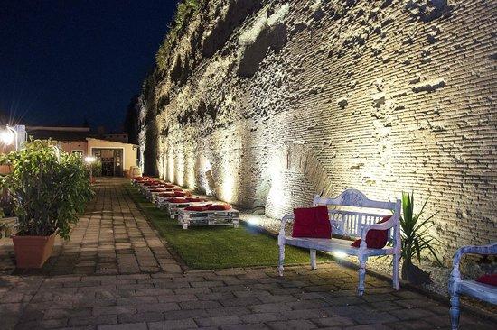 giardino foto de 692 osteria baretto roma tripadvisor