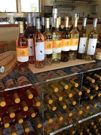Wolffer Estate Vineyard: wine selection