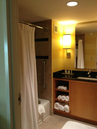 World Golf Village Renaissance St. Augustine Resort: Excellent condition bath.