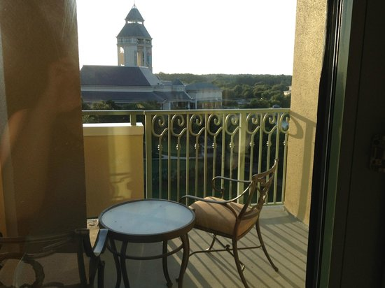 World Golf Village Renaissance St. Augustine Resort: Balcony/ Veranda with view