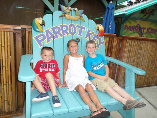 Parrot Key Caribbean Grill: kid friendly