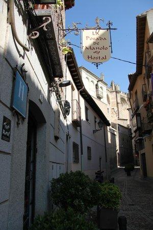 La Posada de Manolo: la fachada