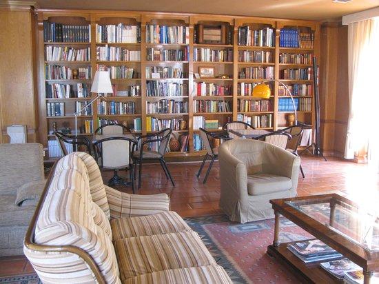 Hotel Picos de Europa: Lounge - Library