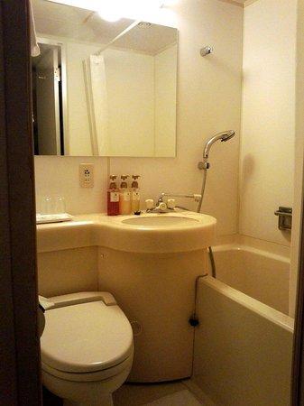 BEST WESTERN Tokyo Nishikasai: バスルーム