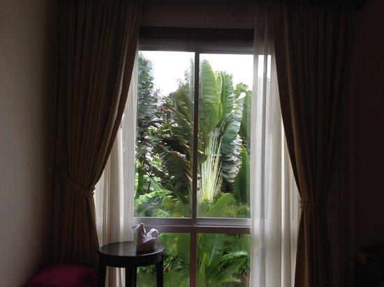 Samed Pavilion Resort: View on a rainy day