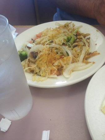 Sunrise Restaurant: Hash browns