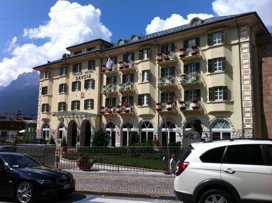 Grand Hotel Savoia: FRONTE DELL'HOTEL
