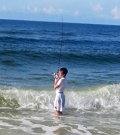 Phoenix III: fishing right in front of condo (free and fun)
