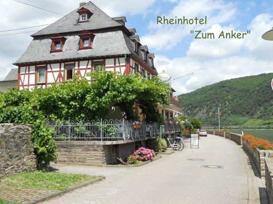 Rheinhotel  Zum Anker: Hausansicht