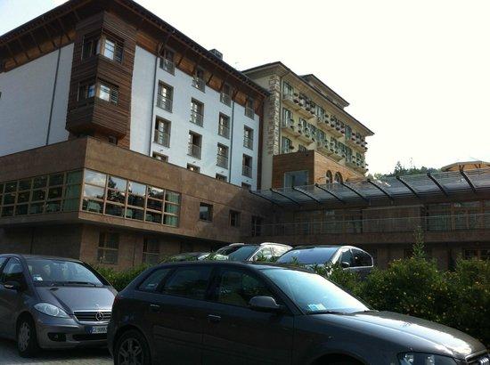 Grand Hotel Savoia: SALA RISTORANTE ED AMPLIAMENTO