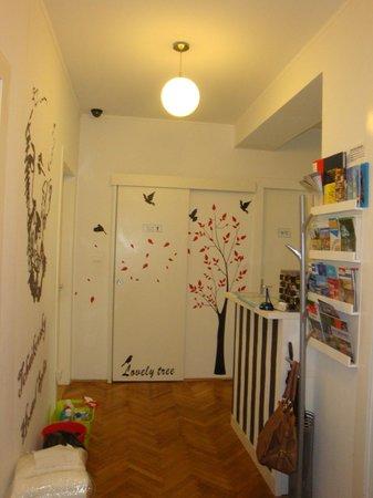 Tchaikovsky Hostel Split: Entrada