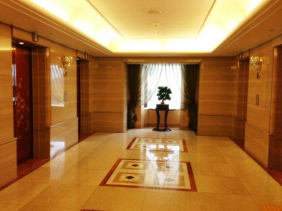 Lotte Hotel Seoul: Lift lobby