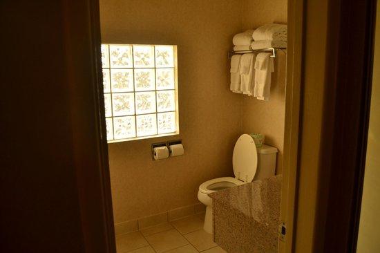 BEST WESTERN Royal Palace Inn & Suites: Baño