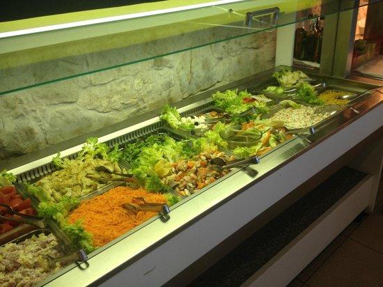 Rivoltella, Italien: Salatbuffet