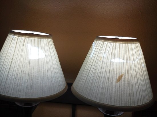 Econo Lodge Inn & Suites - Williamsburg: Lamp shades