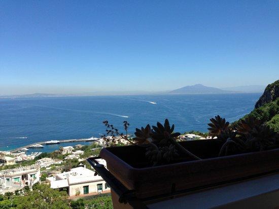 Al Caprì : Capri's Ristorante Balcony View