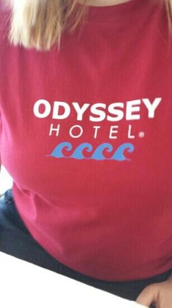 Odyssey Hotel: the awesome hotel logo